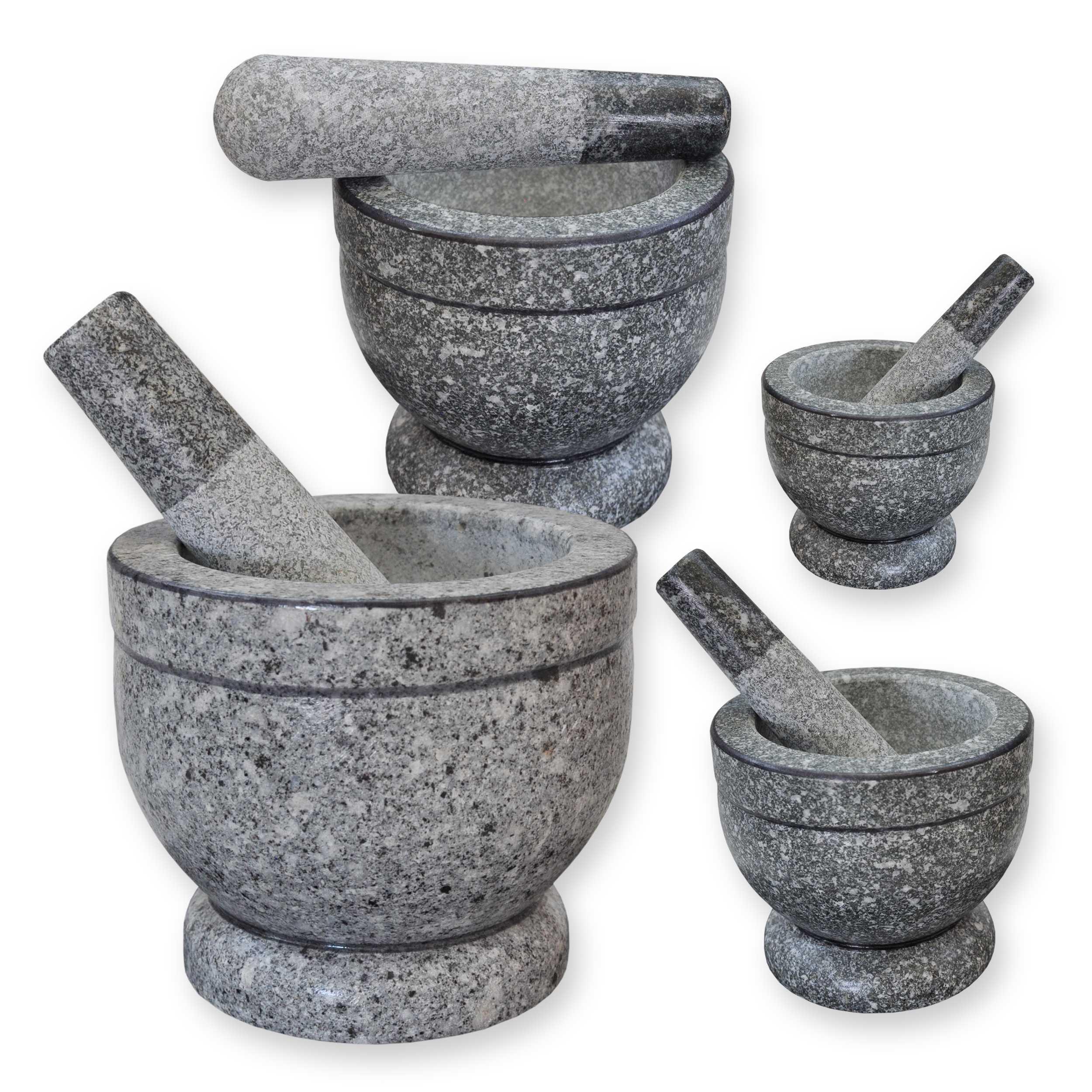 Granitmörser + Stößel