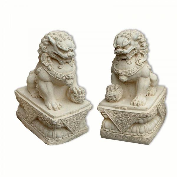 Chien FU, Lion Chinois, Gardien de Temple, mâle ou femelle
