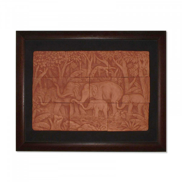 Hand made wooden elephant board