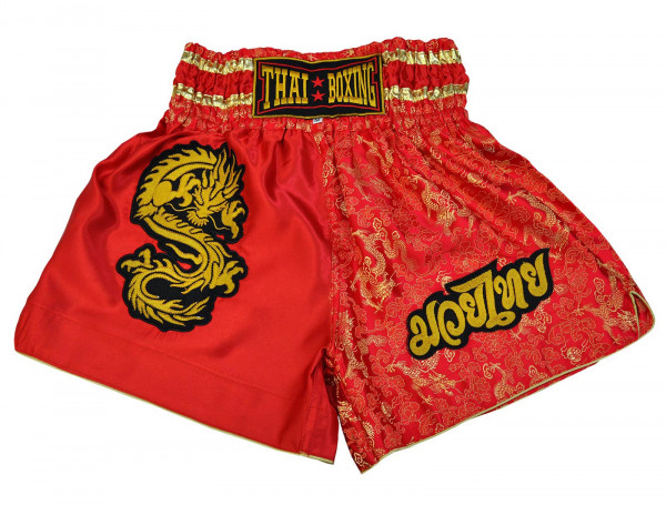 Muay Thai Boxing Shorts Red