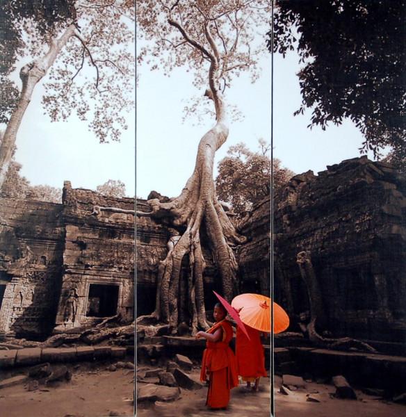 "Keilrahmenbild ""Angkor Wat"""