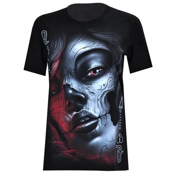 T- Shirt Damen - Motiv 4056 - Rock Chang