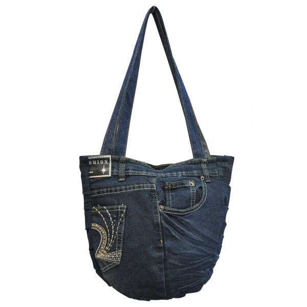 Jeans Shoppertasche Upcycling