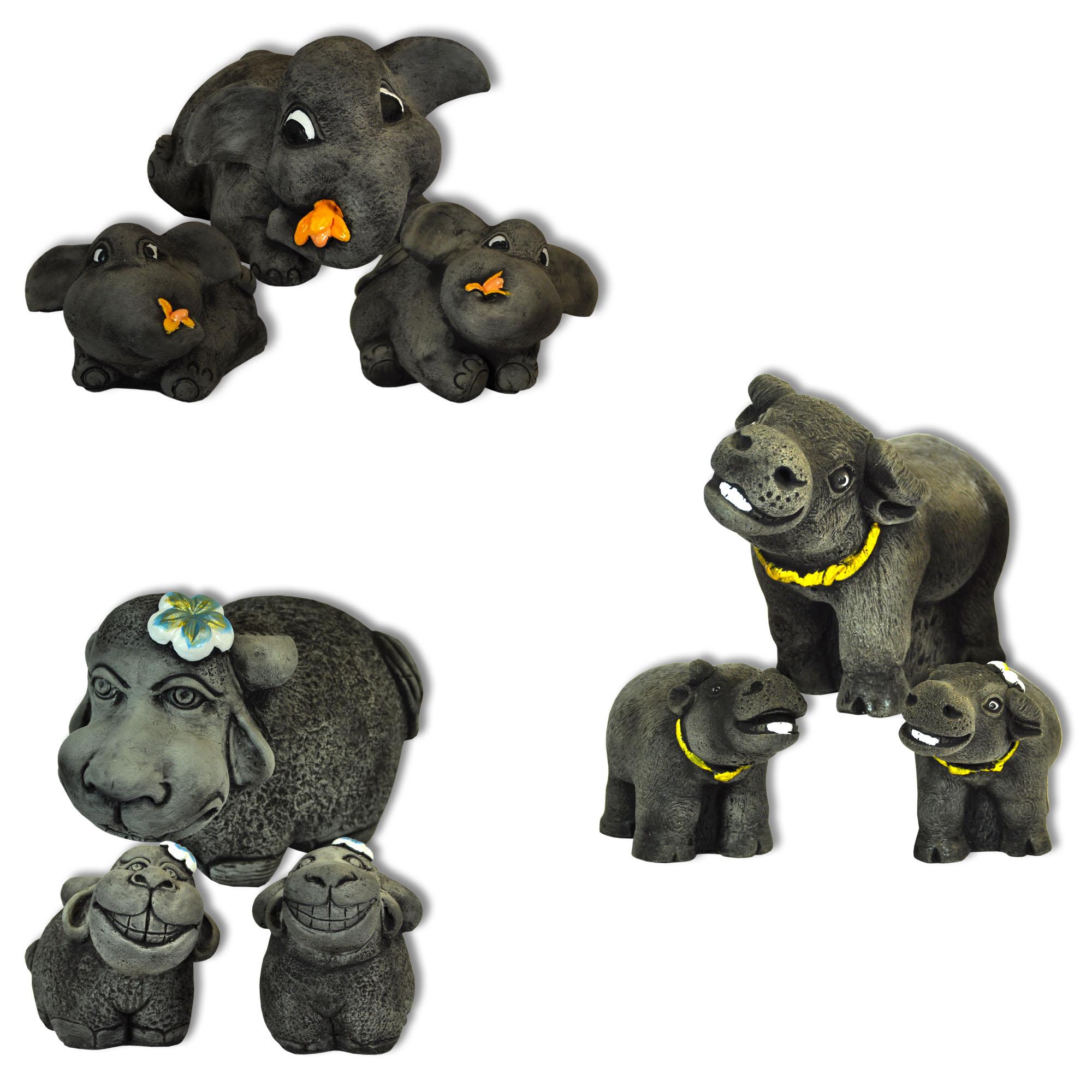 Asian animal statues
