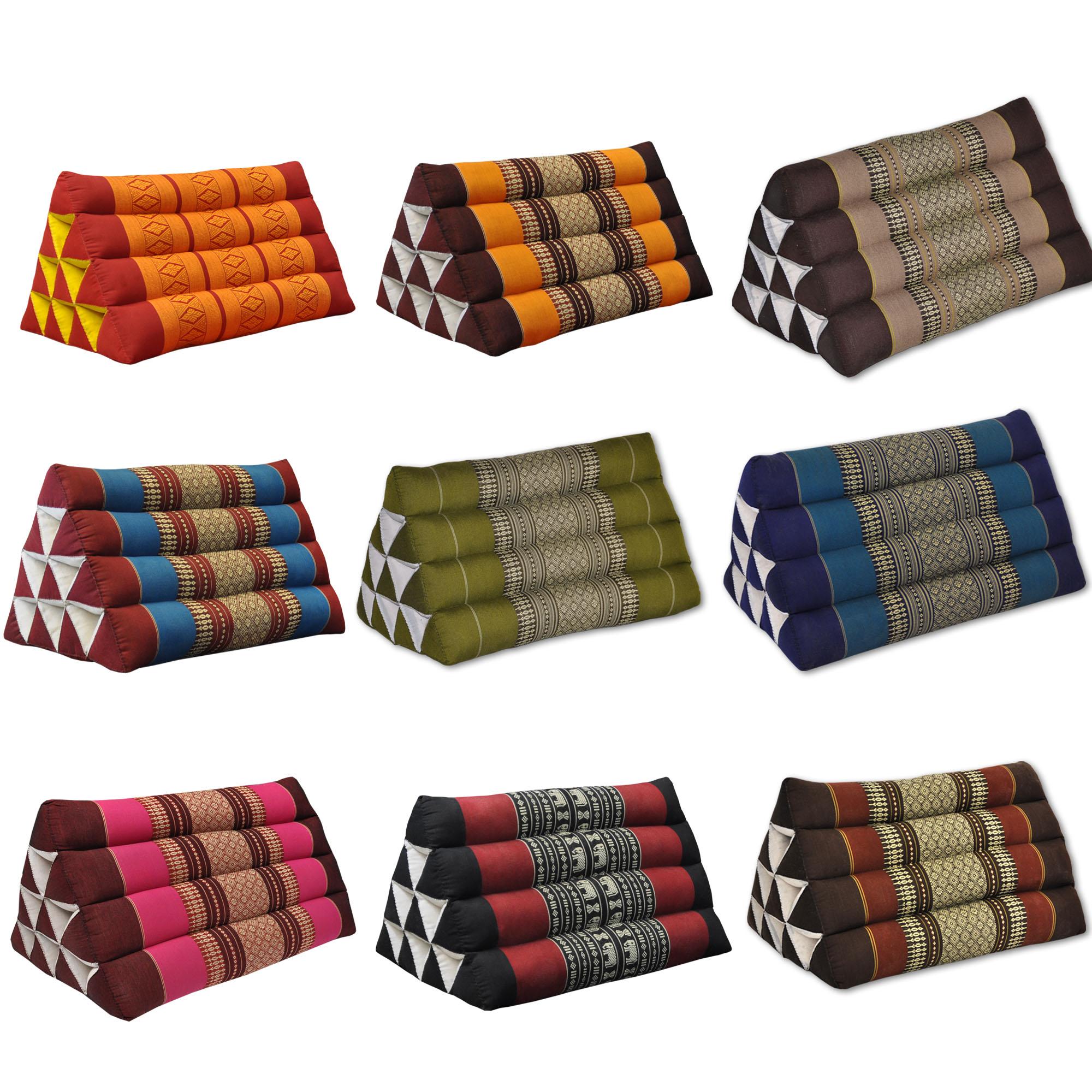 Triangular cushions