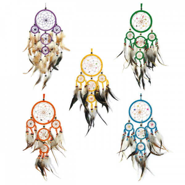 Big Dreamcatcher 40x20, indian shipped from Germany