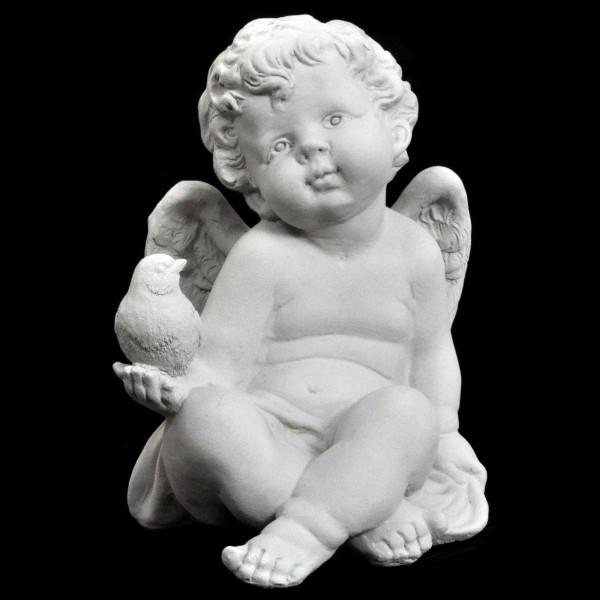 Cupidon avec petit oiseau