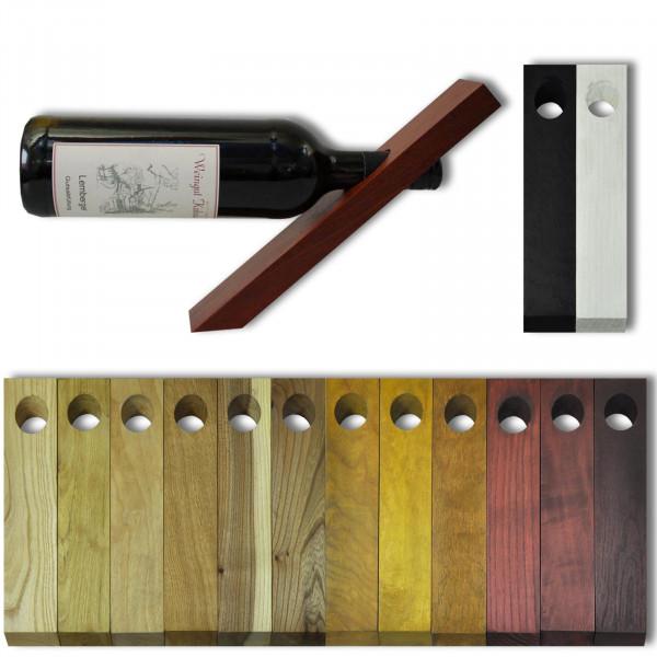 Weinflaschenhalter, Magic Balance (Holz Farblich gebeizt)