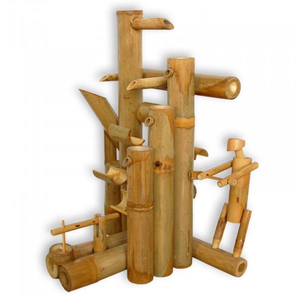 Bamboo water game