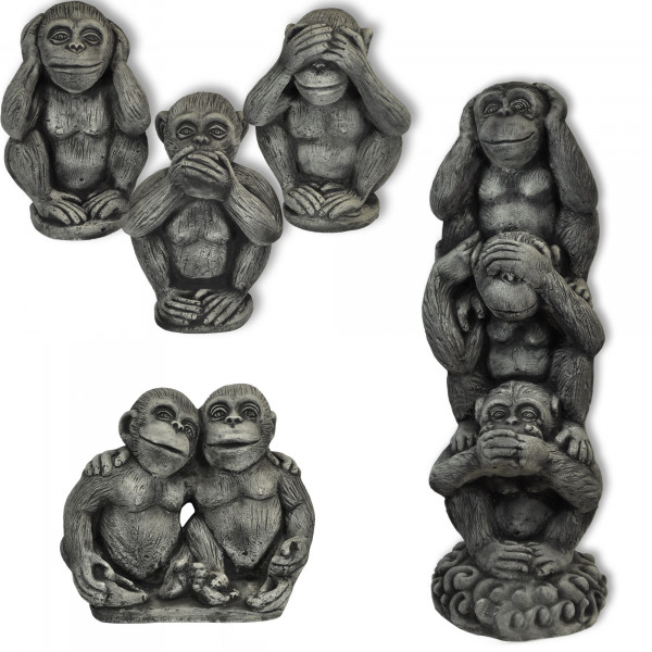 Wisdom monkeys, See nothing, Hear nothing, Say nothing