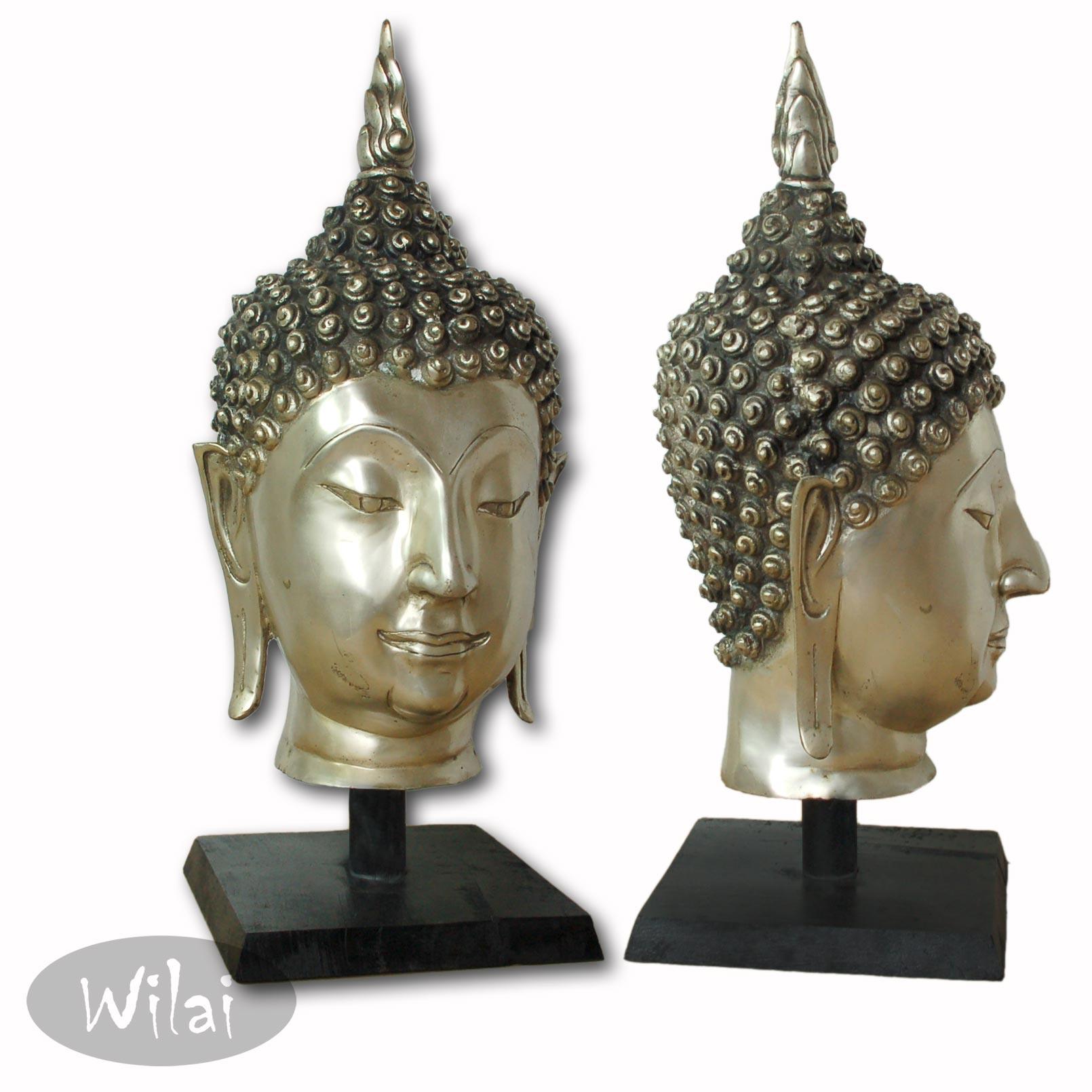Buddhamasken/-büsten