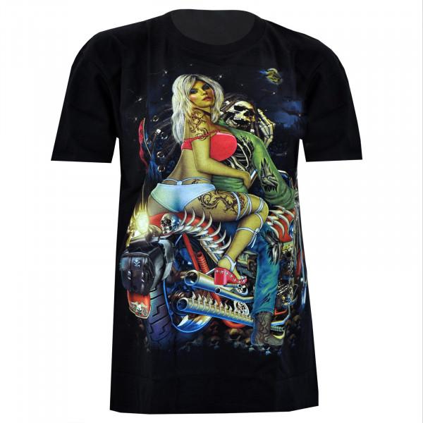 T-shirt Glow in the dark - Motif 4071 - Rock Chang