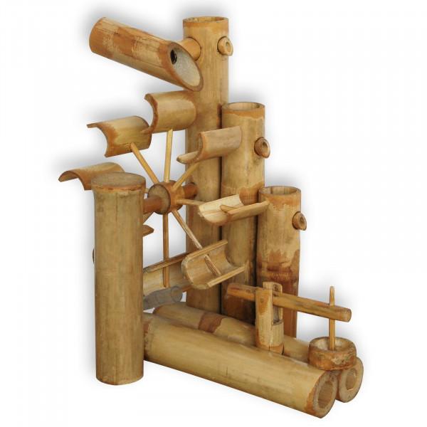 Jeu d'eau en bambou, fontaine