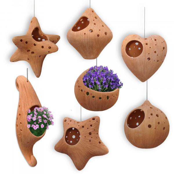 Suspensions pots de fleurs