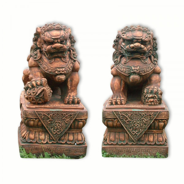 FU dog, Chinese Lion, Temple Guardian, male or female