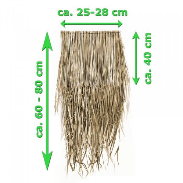 Palmendach-Paneel verschiedene breiten