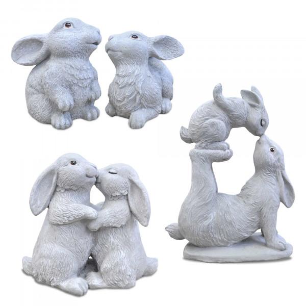 Nains de jardin, lapins