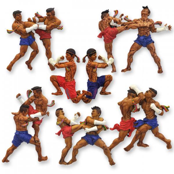 Magnet Kampfsport Thaiboxen Kickboxen - Motiv 14010