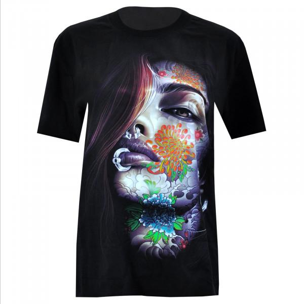 T-shirt Glow in the dark - Motif 4084 - Rock Chang