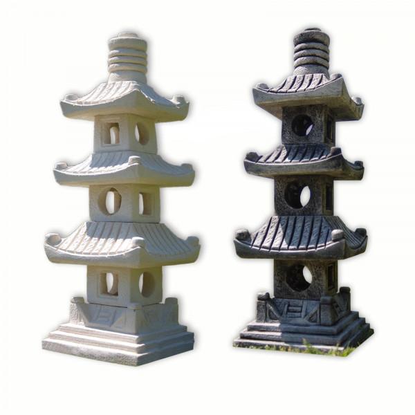 Japan lamp, Pagoda 3 levels