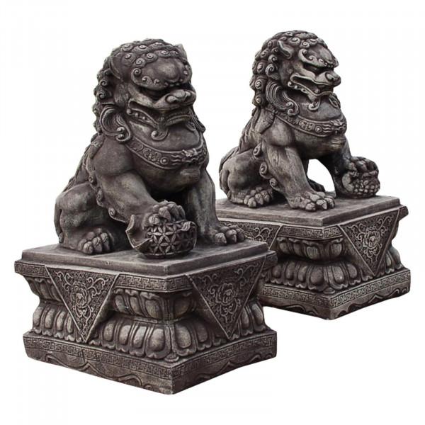 Chien FU, Lion Chinois, Gardien de Temple, mâle ou femelle.