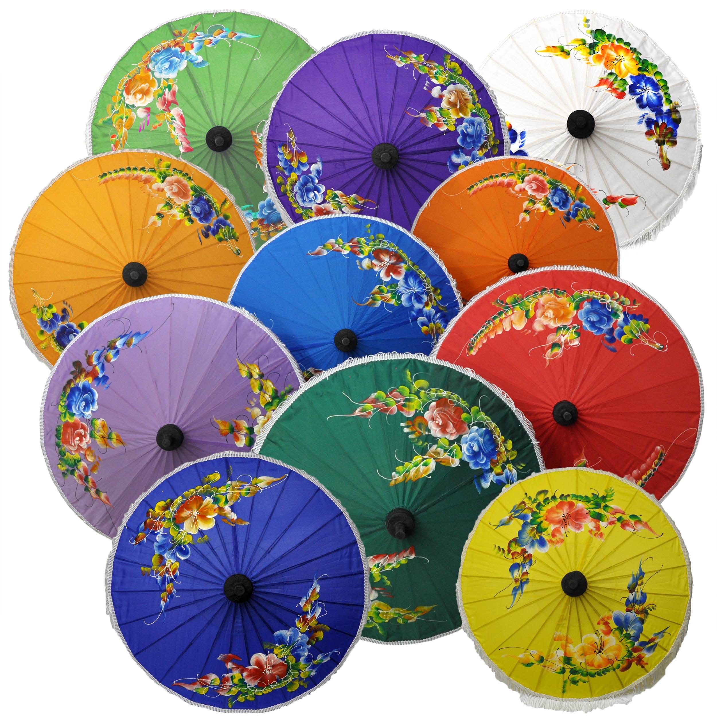 Ombrelles asiatiques
