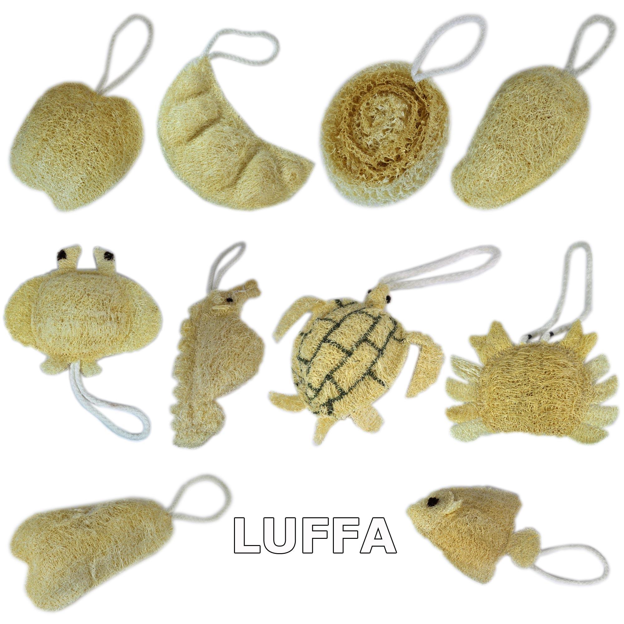Luffa-Produkte