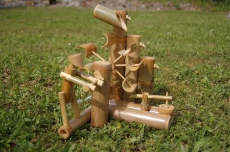 Bambus Wasserspiel