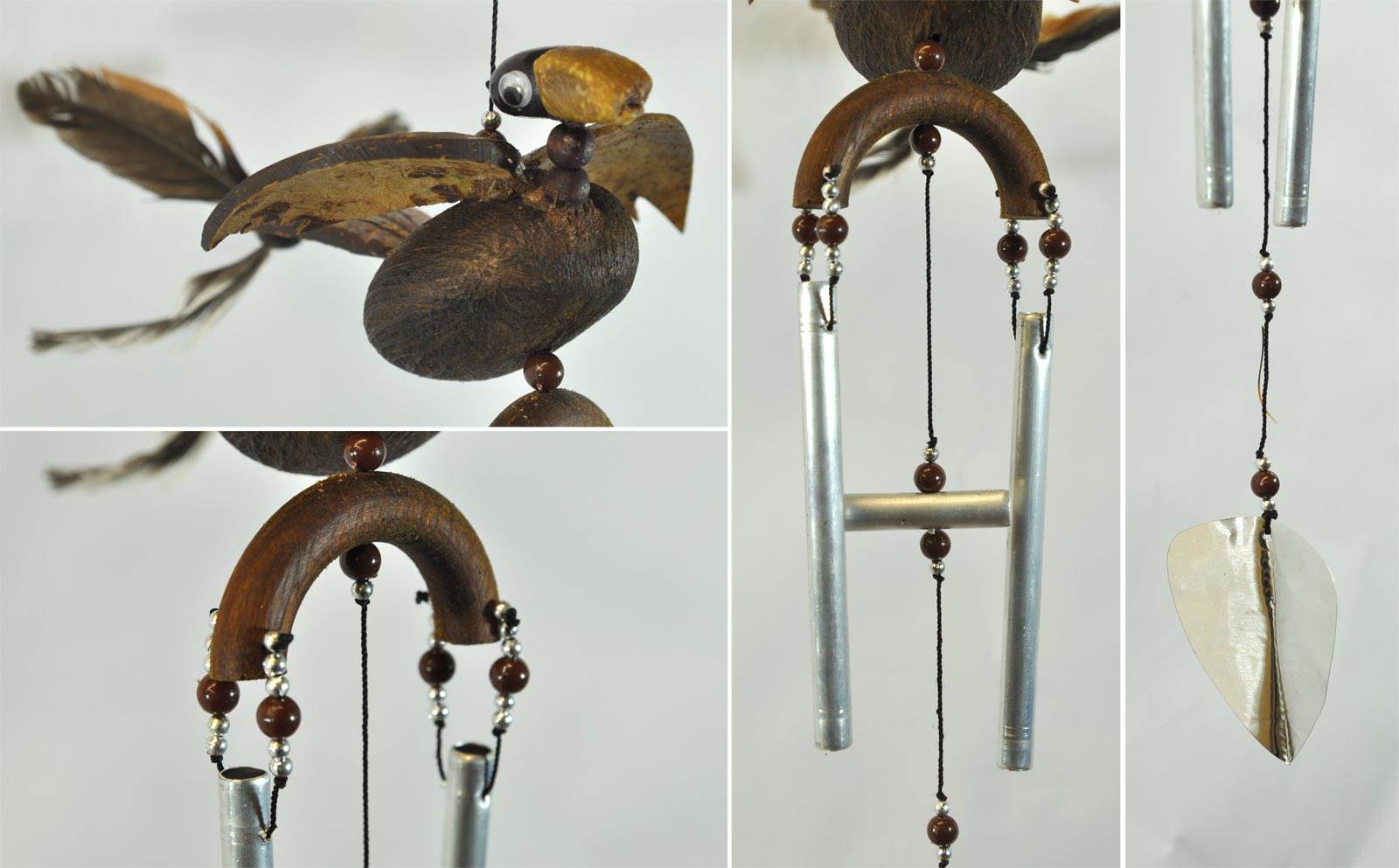 windspiel kleiner vogel. Black Bedroom Furniture Sets. Home Design Ideas