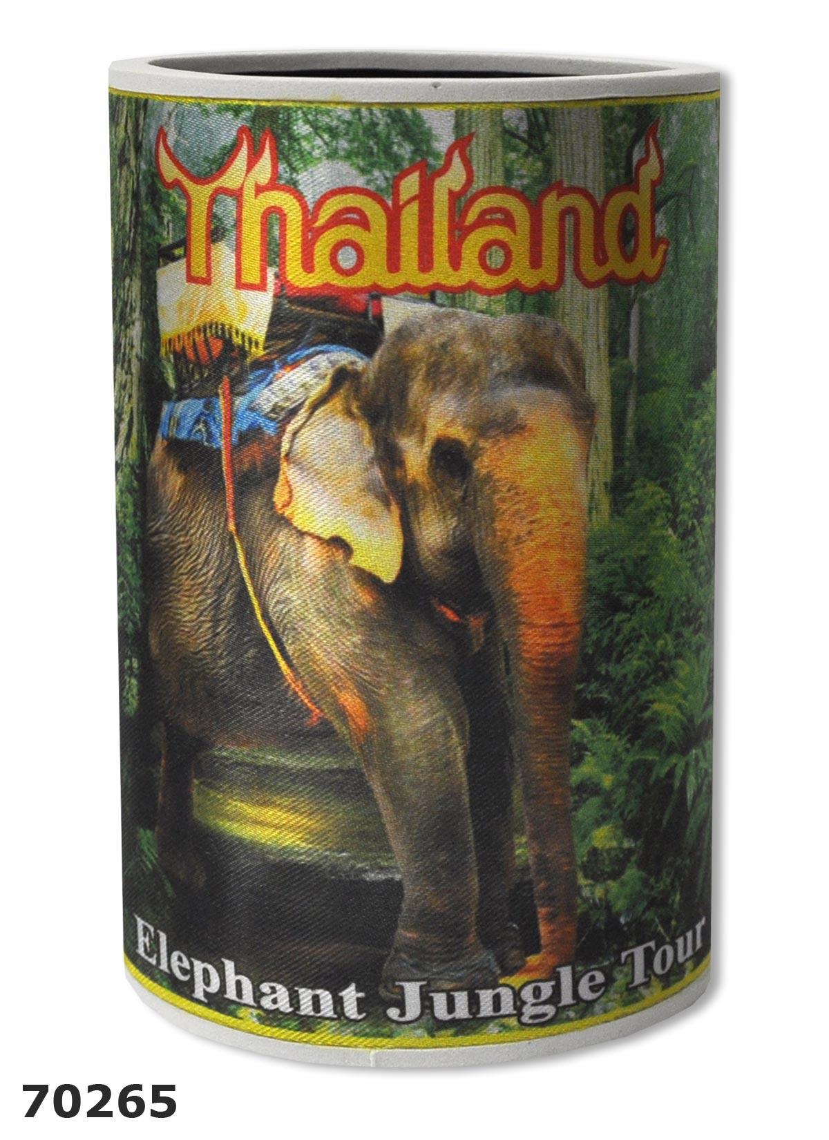 manchon isolant pour bouteilles ou canettes n opr ne elephant tha lande. Black Bedroom Furniture Sets. Home Design Ideas