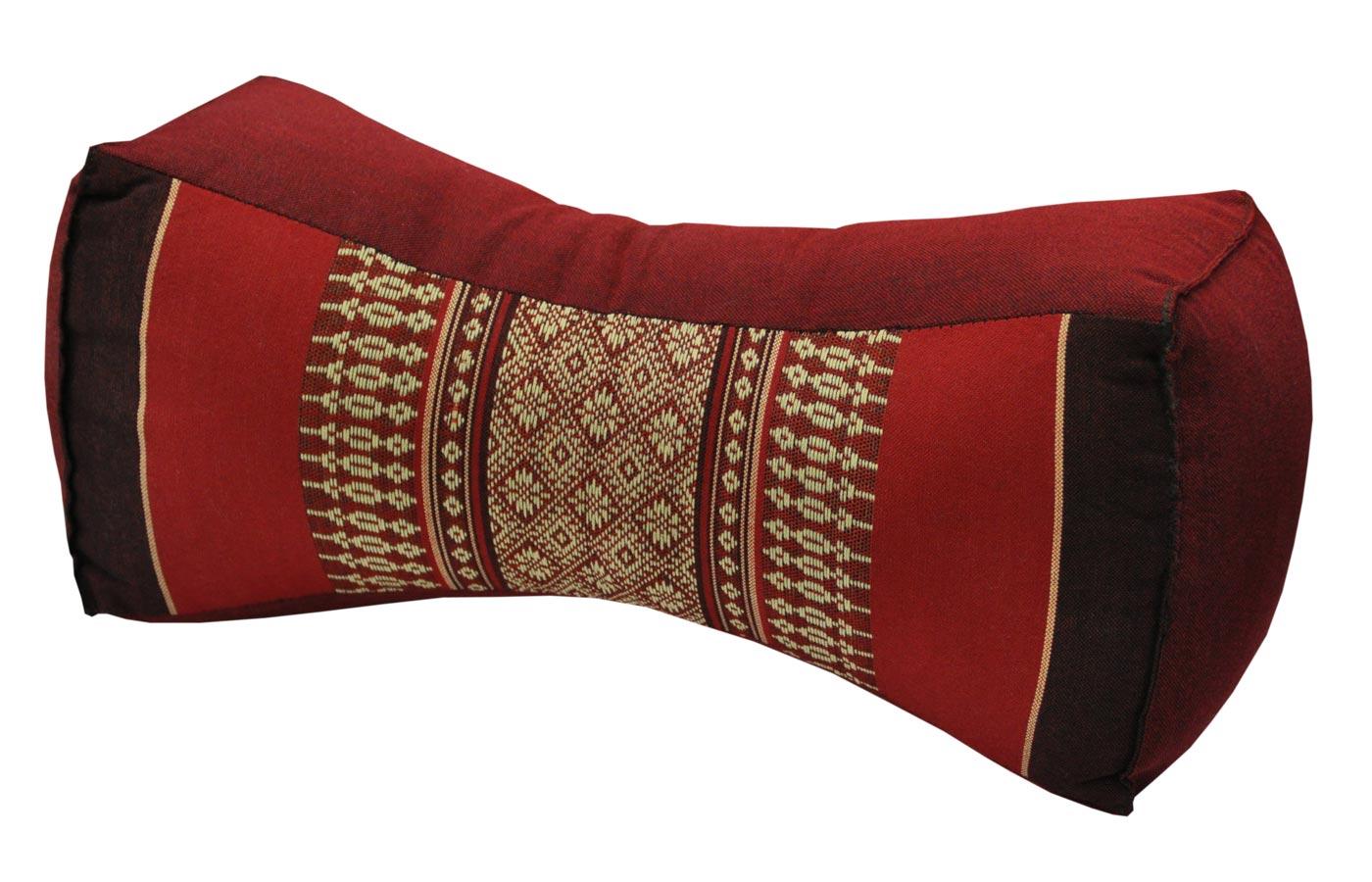 Surprising Thai Cushion Os Neck Pillow Headrest Red Theyellowbook Wood Chair Design Ideas Theyellowbookinfo
