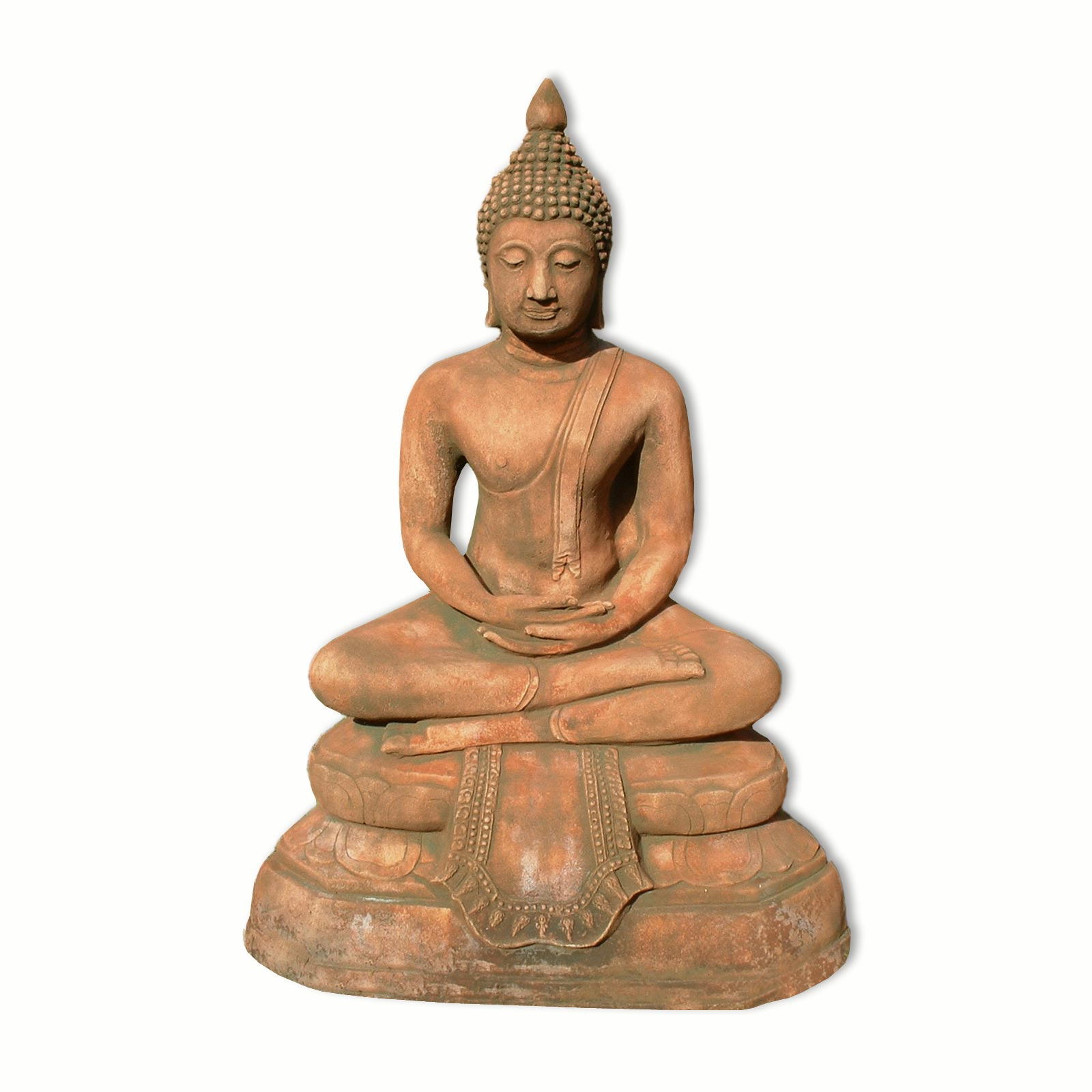 buddha figuren statue figur thailand buddha statue deko ebay. Black Bedroom Furniture Sets. Home Design Ideas