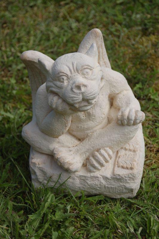 Statue, décoration jardin, Gargouille volante, importée de ...