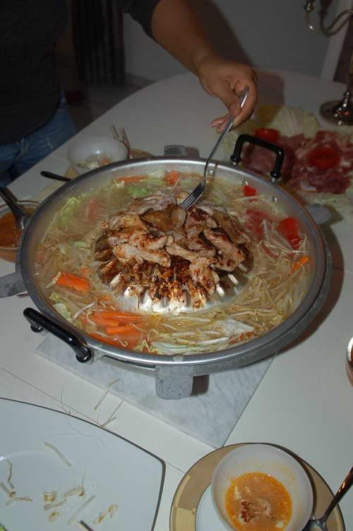 Thai Grill Thai soup 19712 grilling-soup tureen fondue thai MU KLA TA